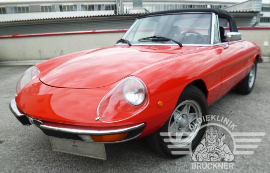 Alfa Romeo Spider rot