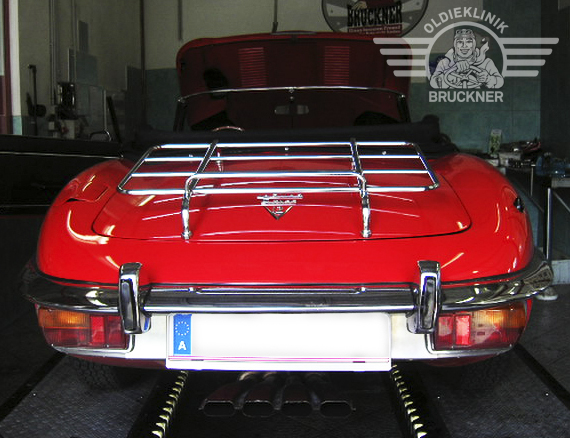 Jaguar E Type - Oldieklinik Oldieklinik