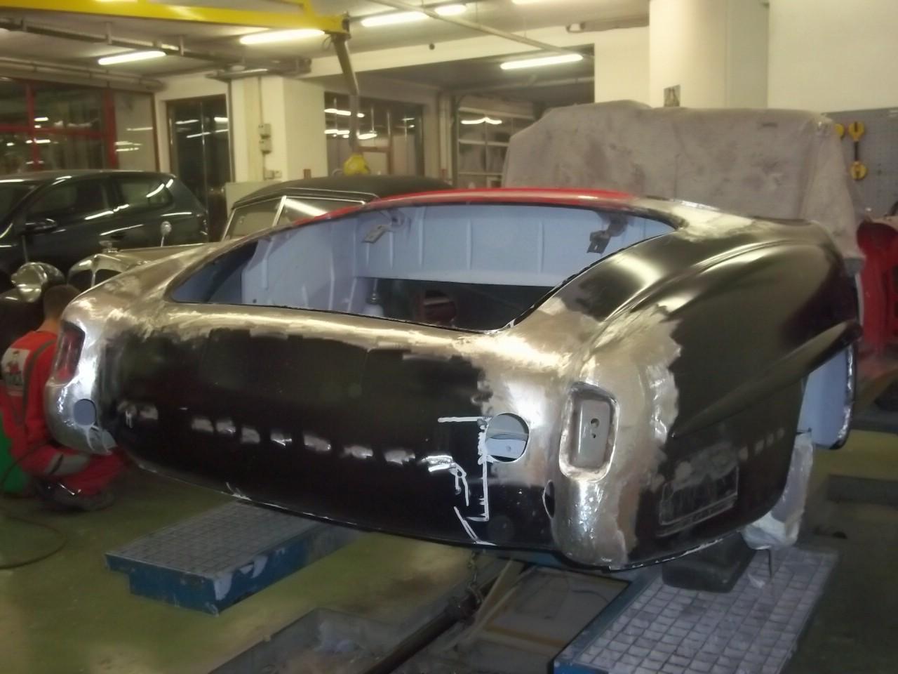 Mercedes 190 SL rot